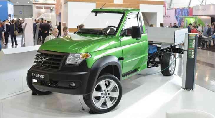 УАЗ представил гибридный грузовик