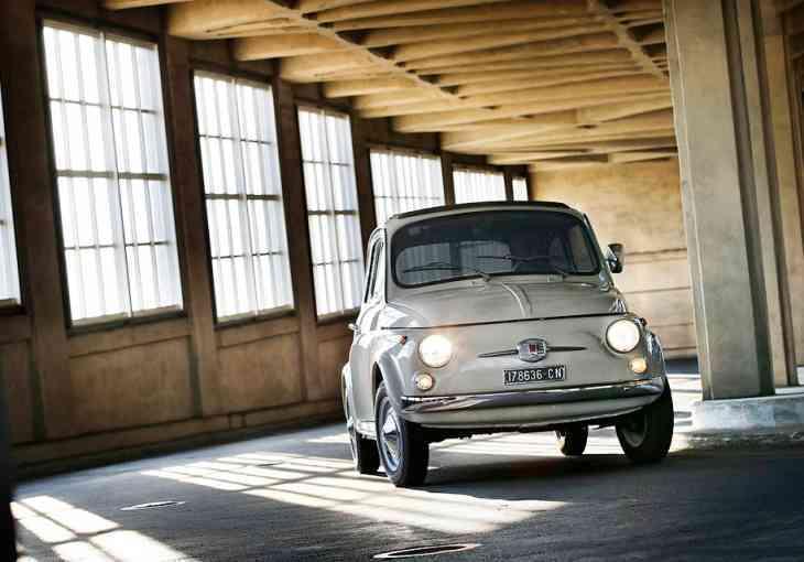 Микролитражку Fiat 500 признали произведением искусства