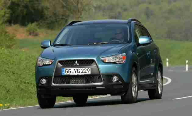 Mitsubishi отзывает в России почти 90 000 кроссоверов ASX