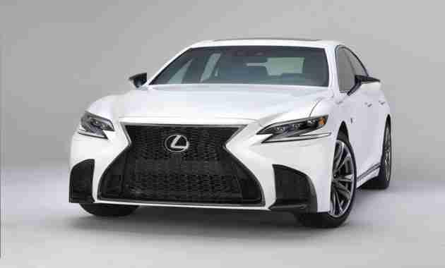Заряженный Lexus LS F рассекретили в Японии