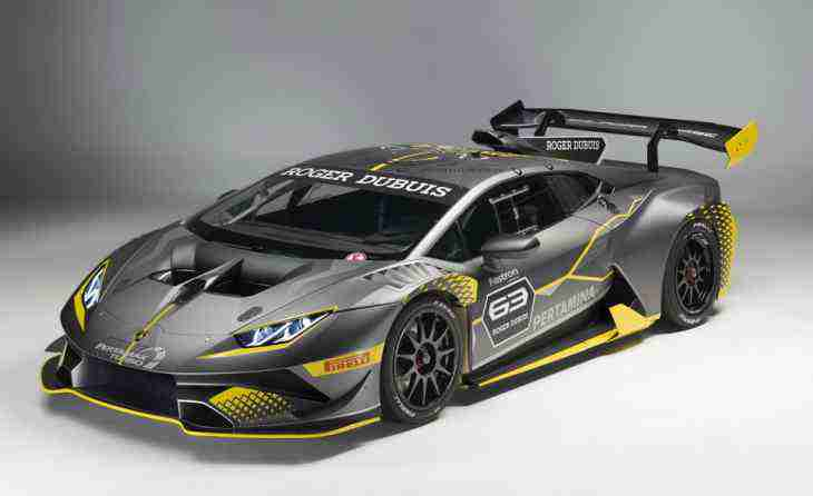 "Lamborghini представил ""ультимативный"" Huracan Super Trofeo EVO"