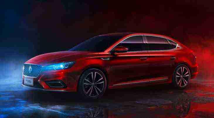 Марка MG рассекретила новый седан