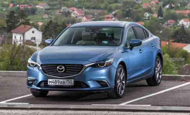 Следующая Mazda6 получит задний привод